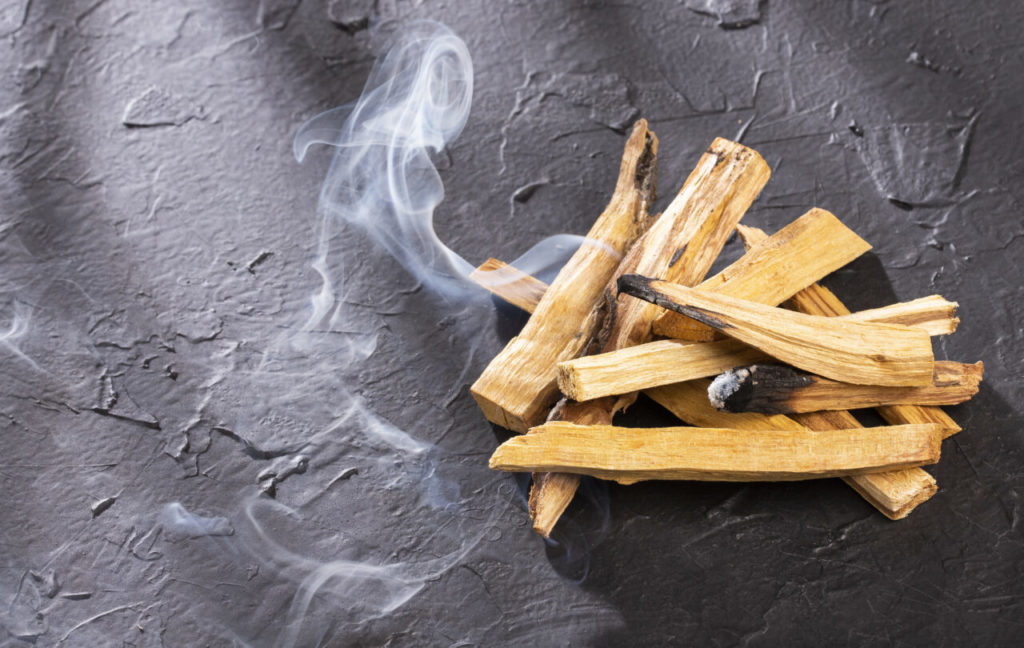 palo santo at surrender to happiness