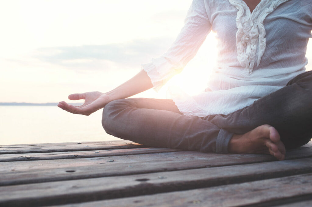 meditate as part of a daily ritual