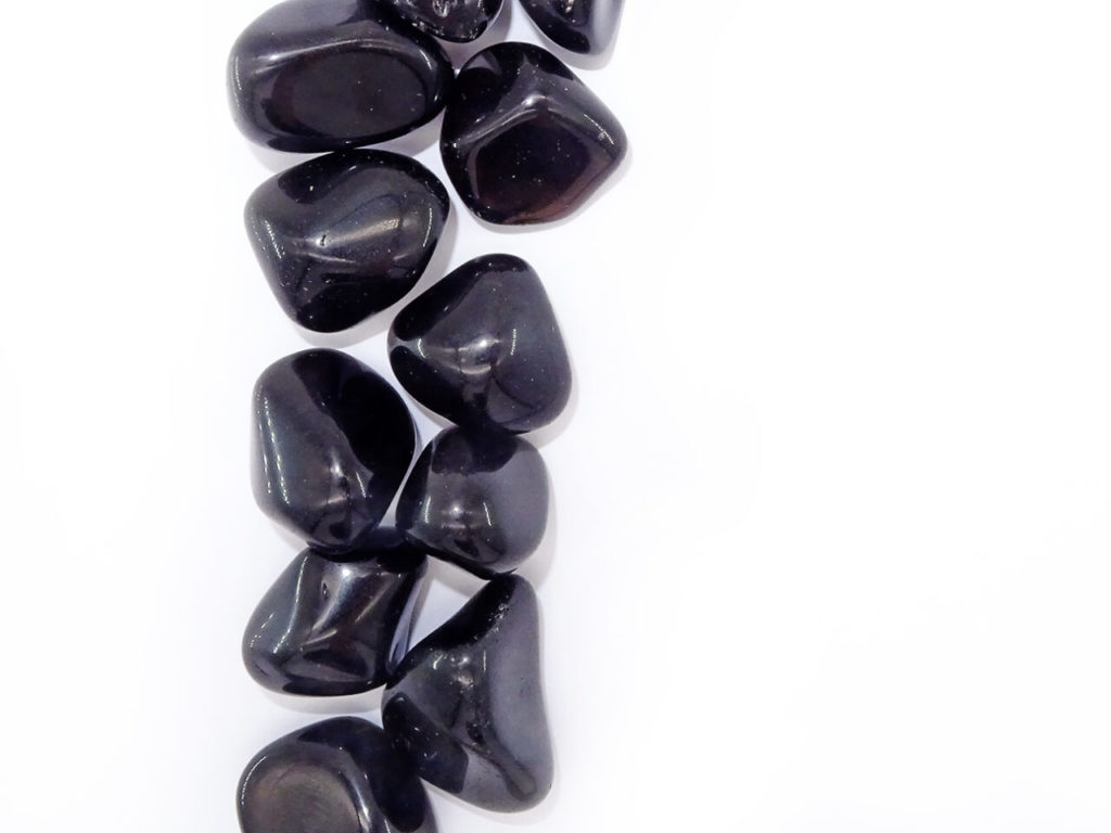 Apache tear tumblestone