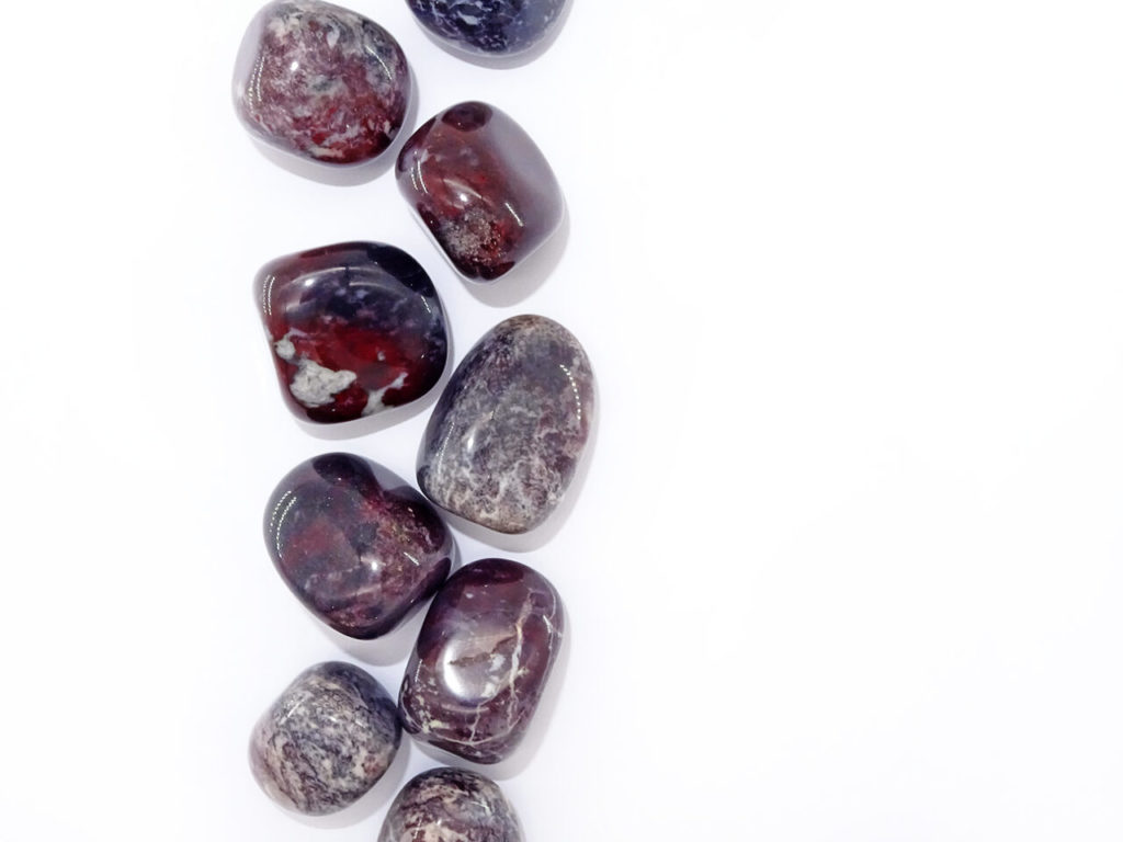 bloodstone tumblestone at surrender to happiness