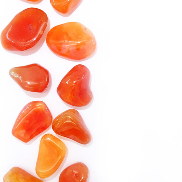 carnelian tumblestone at surrender to happiness