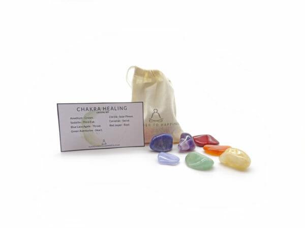 chakra healing crystals at surrender to happiness