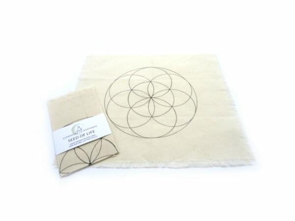 seed of life crystal grid hand drawn