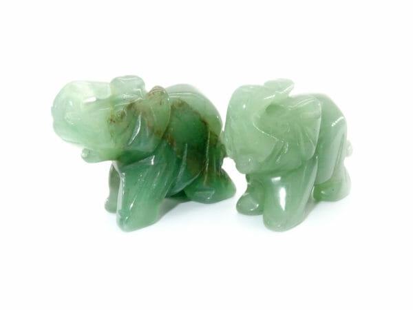 Jade elephants