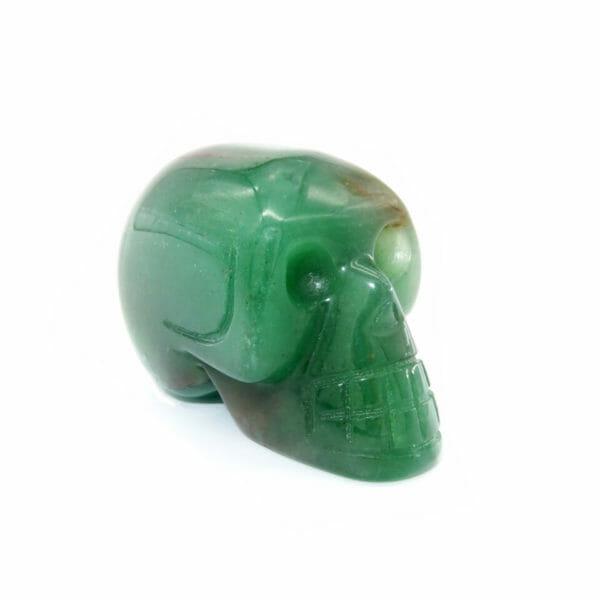 Jade Gemstone Skull