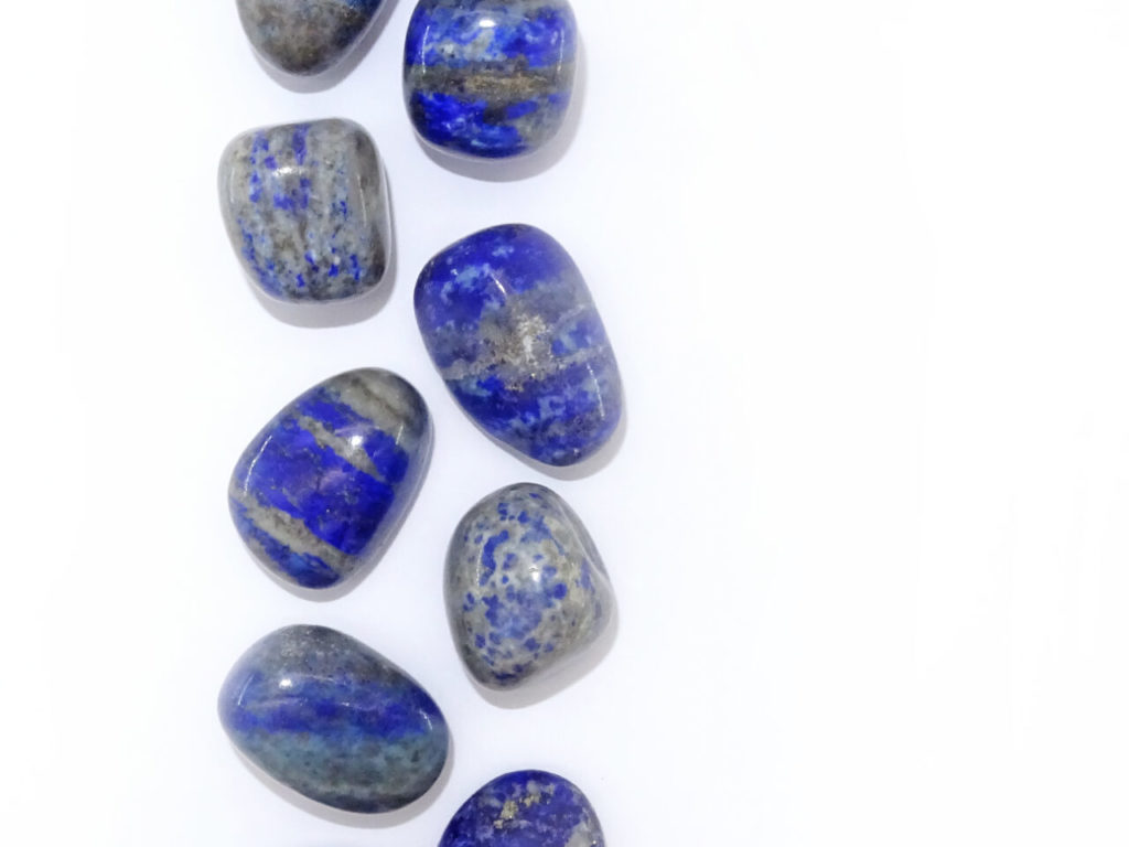 Lapis lazuli at surrender to happiness