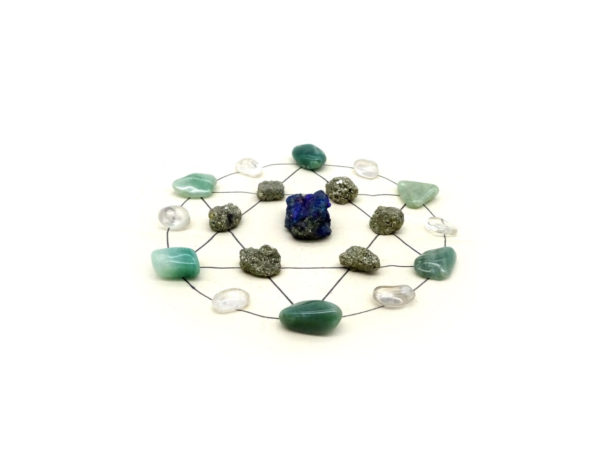 New ideas crystal grid kit at surrender to happiness