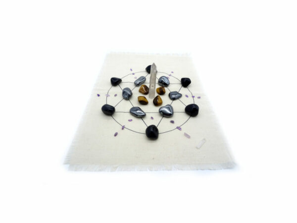 protection crystal grid set