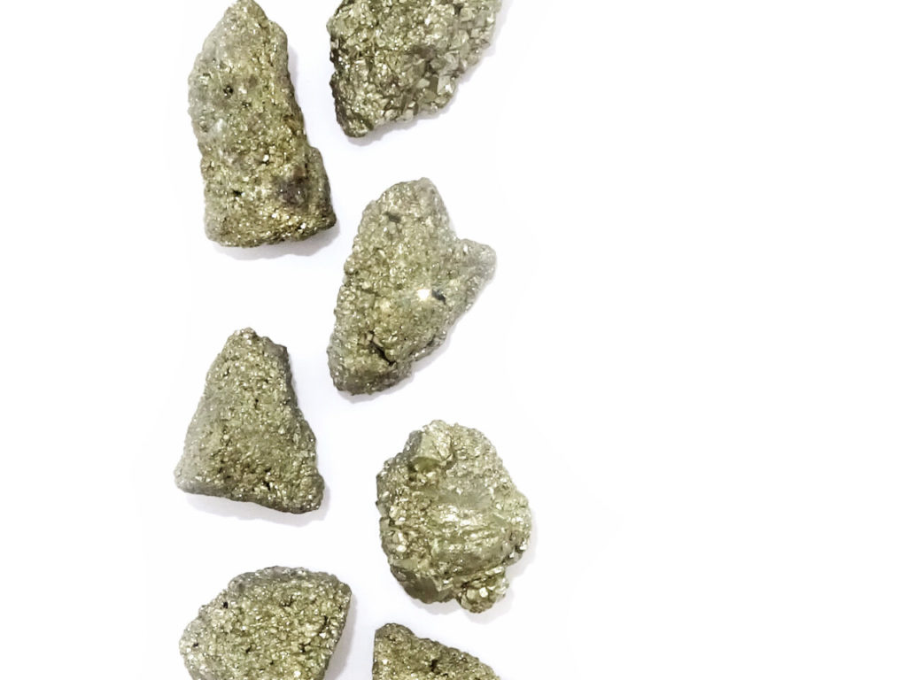 iron pyrite at surrender to happiness