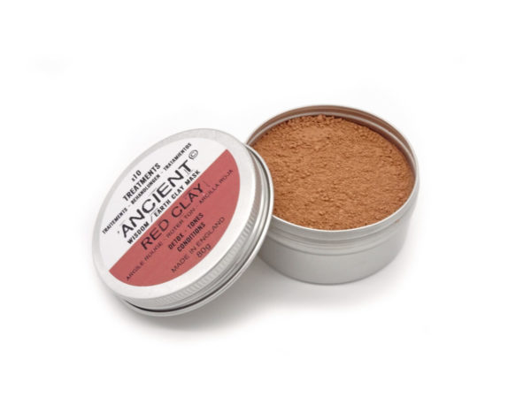 red clay face mask at surrender to happiness