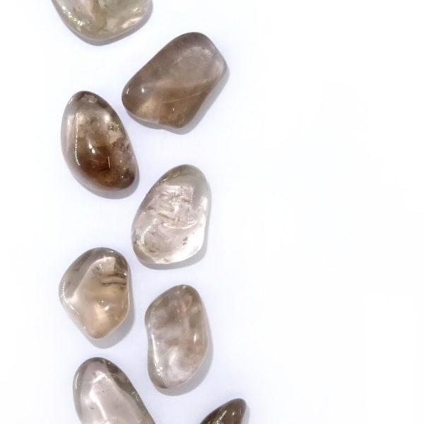 smoky quartz tumblestone