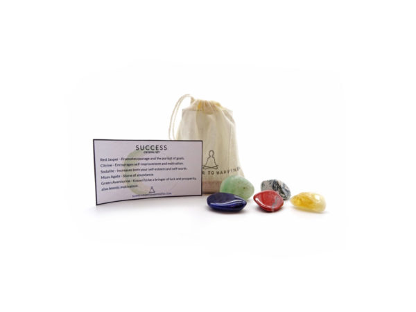 success crystal set at surrender to happiness